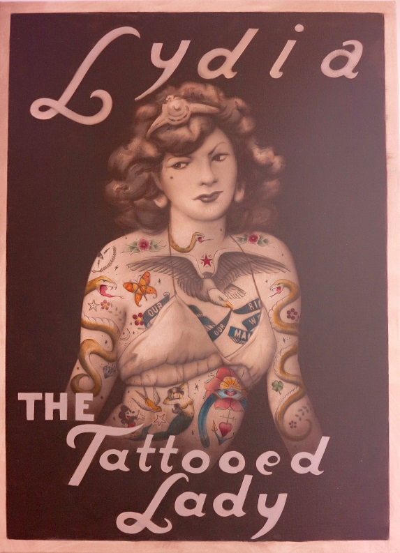 lydia the tattooed lady-web
